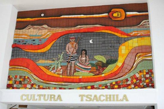 Lobby art at Grand Hotel Santo Domingo