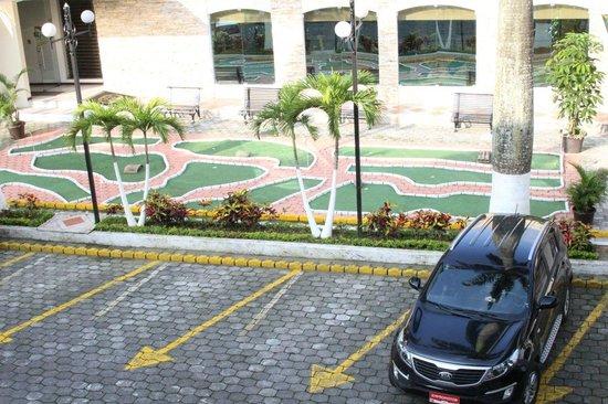 put-put course at Grand Hotel Santo Domingo