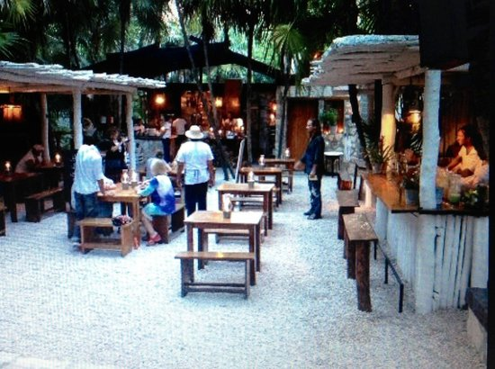 Photo of Seafood Restaurant Hartwood at Jungle Side Of Tulum's Beach Road 7.6km, Tulum, Mexico
