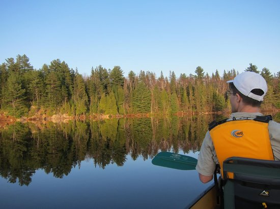 Algonquin Adventure Tours - Day Tours: First canoe trip