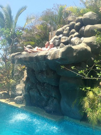 Casa Bambora: taking a dip in the pool