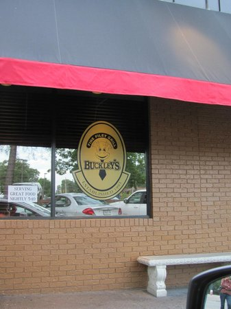 Buckley's Restaurant East: Logo on the window near entrance