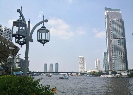 Mandarin Oriental, Bangkok: Riverside terrace