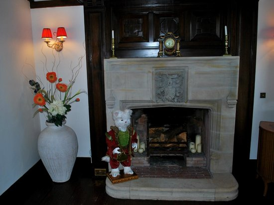 Ard-na-Coille Guest House: Another fireplace in the lounge.