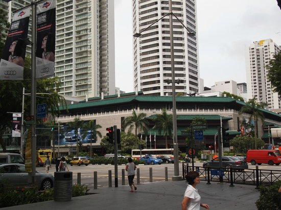 Singapore Marriott Tang Plaza Hotel: 外観