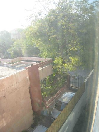Sage Hotel: The limited view from one of our rooms