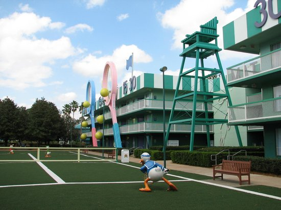 6043be1996e Tennis section of All-Star Sports - Picture of Disney s All-Star ...