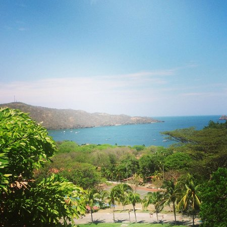 View from lobby picture of villas sol hotel beach for Villas sol playa hermosa