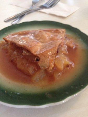 Apple Pan: slice of pie