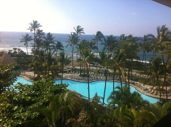 Hilton Waikoloa Village: View from the lagoon tower
