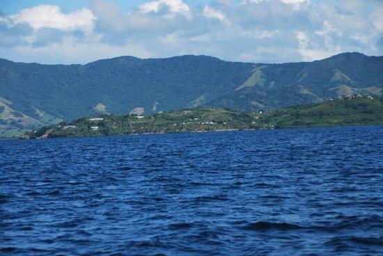 Wananavu Beach Resort: Coming back from the island!