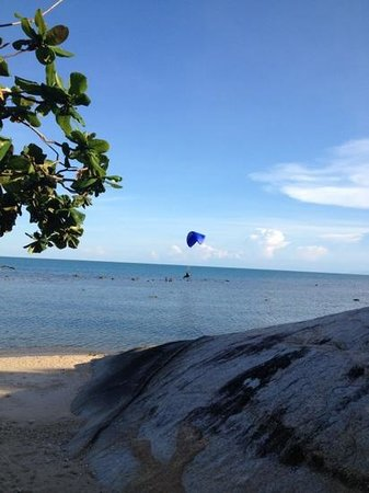 Lazy Day's Samui Beach Resort: seaview