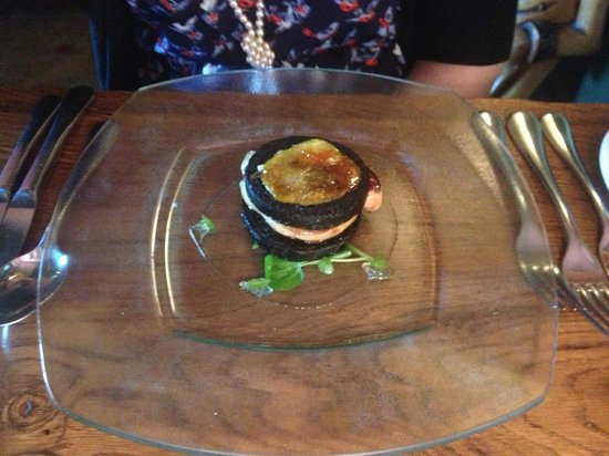 The Star Inn: Black Pudding Foie Gras