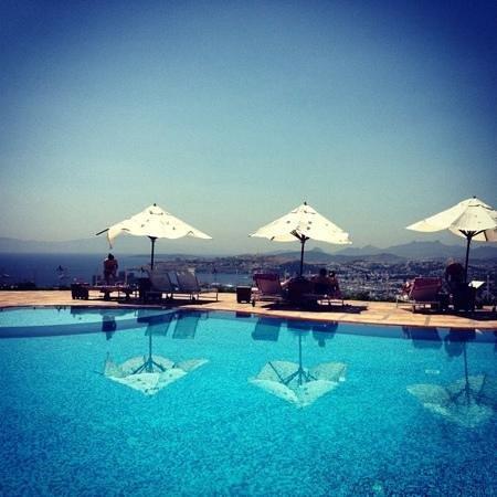 The Marmara, Bodrum: the pool