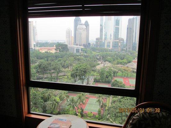 The Sultan Hotel & Residence Jakarta: Jakarta view
