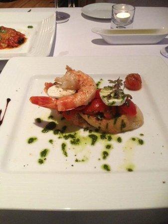 Cucina Italiana : Prawns starter