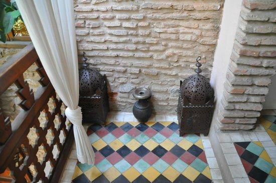 Riad Hidden : decoration