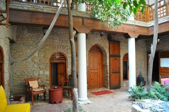 Riad Hidden : patio