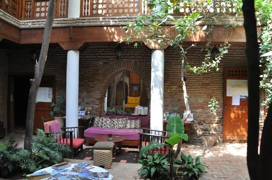 Riad Hidden: patio