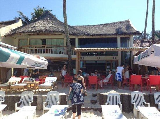 بوراكاي بيتش كلوب: BBC Beach front.