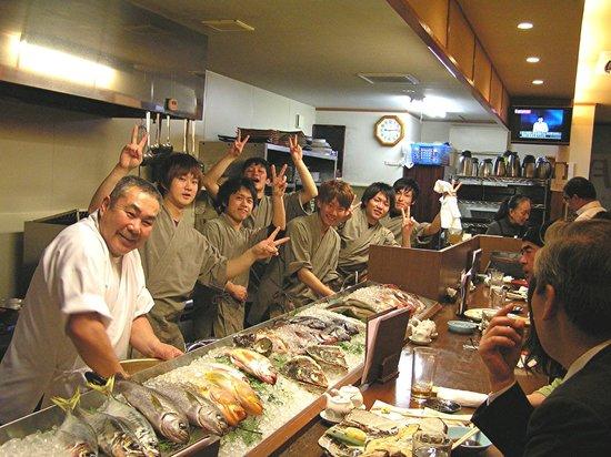 Matsue, Giappone: おいしい現地でとれた魚
