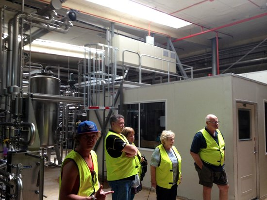 Tui Brewery : On the Tour.