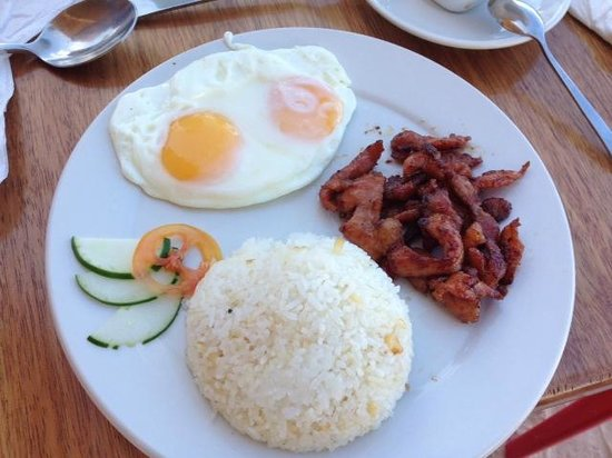 Boracay Beach Club : Delicious breakfast of BBC