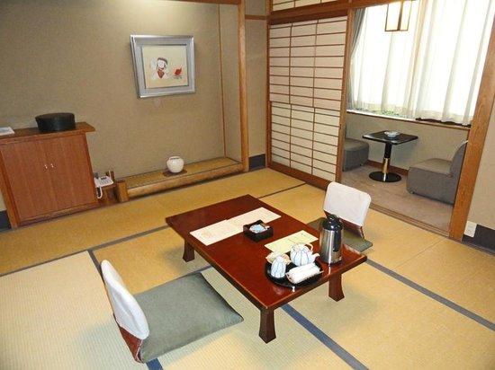 Ryokan Tazuru: La chambre