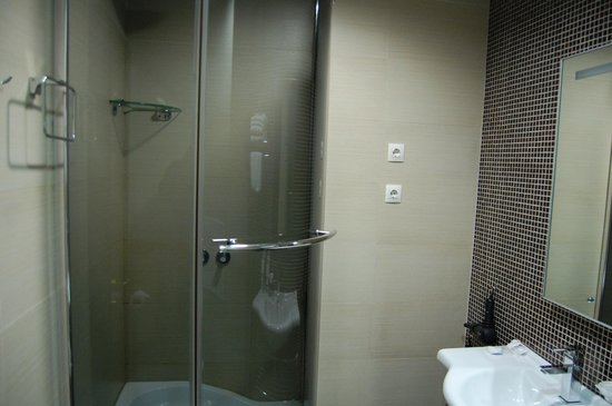 Boutique-Hotel Khabarovsk City: The shower cubicle