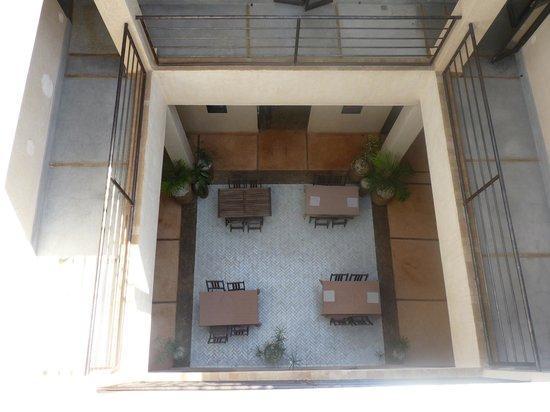 Riad Samarine: le patio