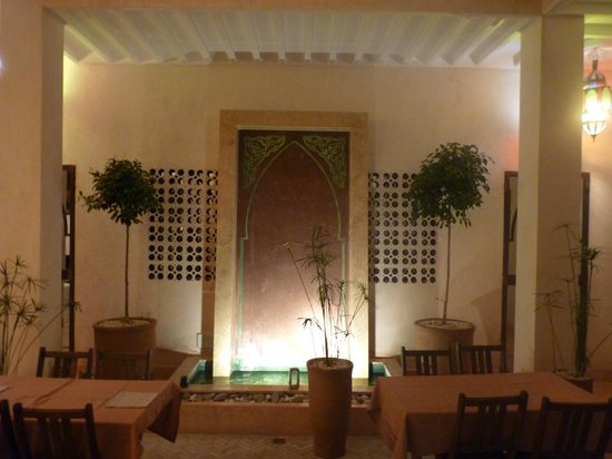 Riad Samarine : le patio