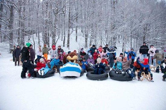 Trixi Ferienpark Zittauer Gebirge: Rodelspass mit Maskottchen Trixi