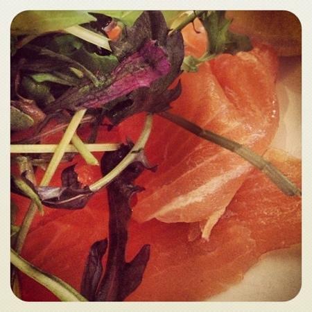 Chez La Vie: smoked salmon