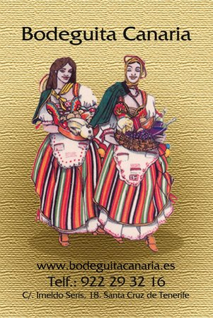 Bodeguita Canaria: Comida tradicional canaria