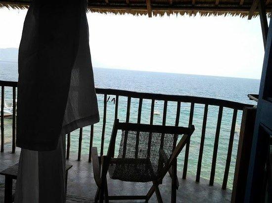 Portulano Dive Resort: Vue depuis le lit
