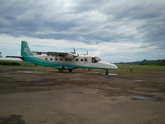 El Nido Resorts Miniloc Island: L'arrivée en avion