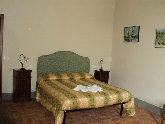 La Dama del Campo: camera da letto