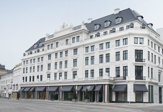 Hotel D'Angleterre: Front