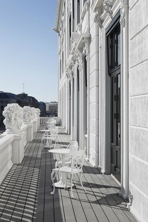Hotel D'Angleterre: Royal Suite balcony