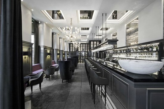 Hotel D'Angleterre : Champagne bar