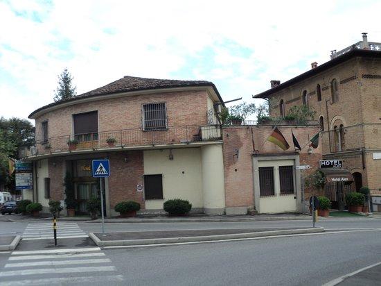 Hotel Alex: esterno