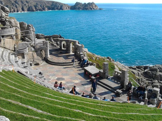 Пензанс, UK: Minack Theatre