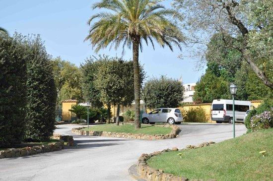 Hotel Selva Candida : Parc paysagé