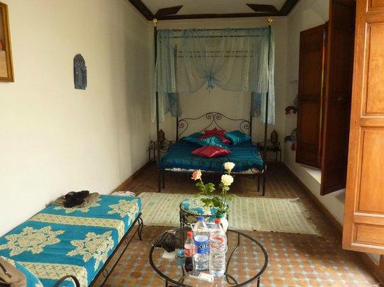 Dar Al Safadi: apercu partiel de notre chambre