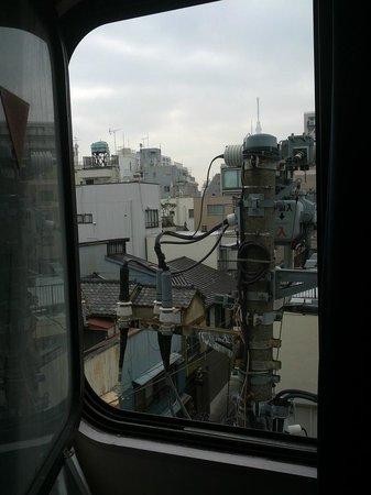 Ueno New Izu Hotel : Vista desde la habitación