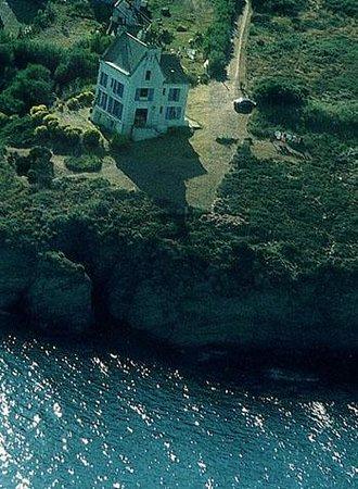 Villa de Jade: vue d'avion