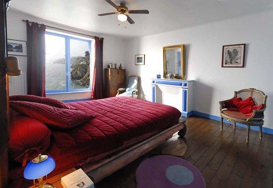 Villa de Jade: chambre bleue