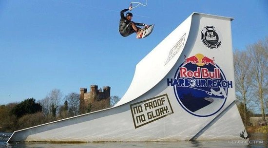 Just Wake: Jonty Green flying out of the Quarter Pipe