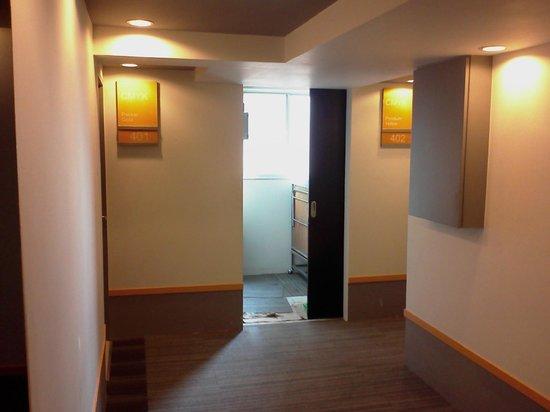 Myhotel Cmyk@Ratchada: Corridor