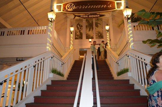 Merriman's Poipu: Restaurant Entrance